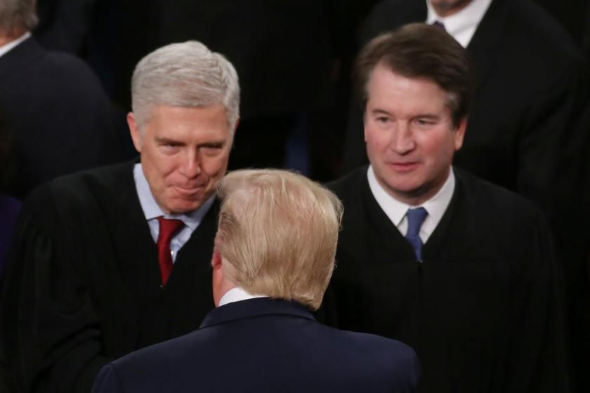 Justice Kavanaugh seems to argue no votes should be counted after Election Day. He may get his wish in key states.