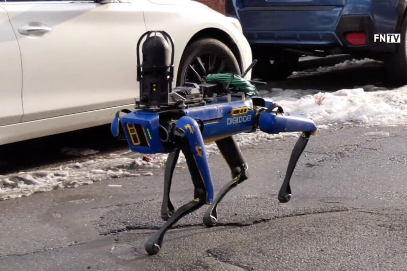 """The NYPD retires """"Digidog"""" robot after public backlash"""