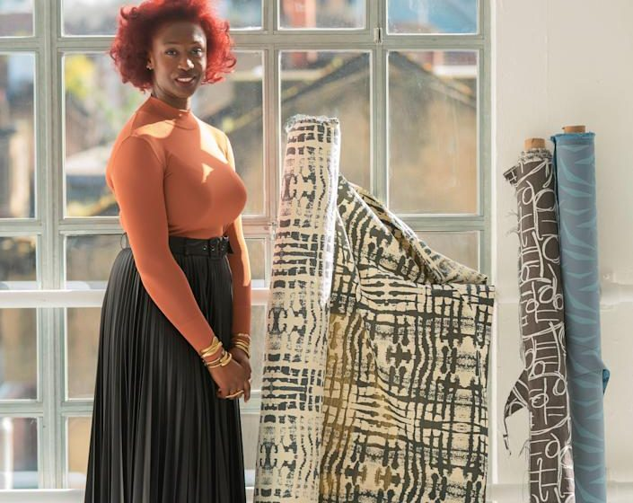 This Designer is Celebrating Ghanian Tradition With Her Spirited New Line of Textiles