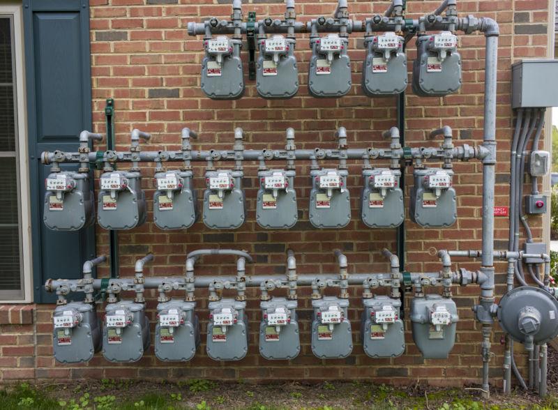 residential natural gas meters
