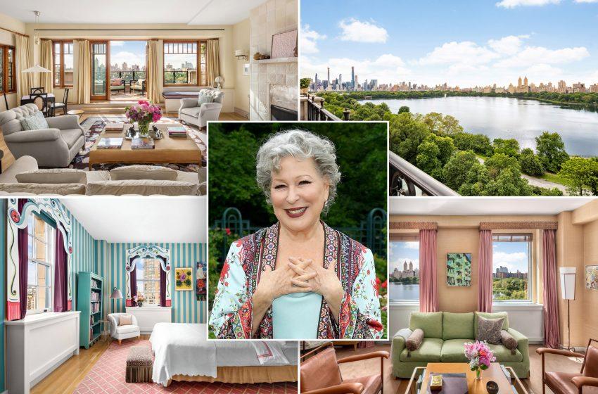 Bette Midler scores buyer for $50 million Manhattan penthouse