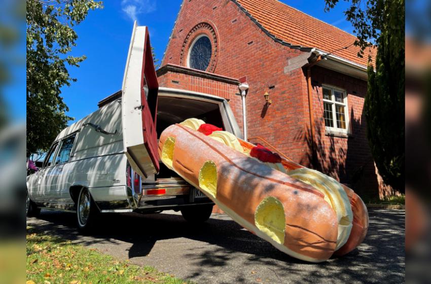 Colourful coffins lighten mood at New Zealand funerals