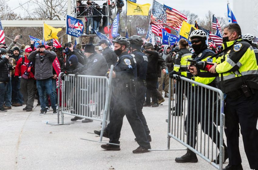 Capitol Rioters Allegedly Assaulted D.C. Cops — And Then Complained About Getting Pepper Sprayed