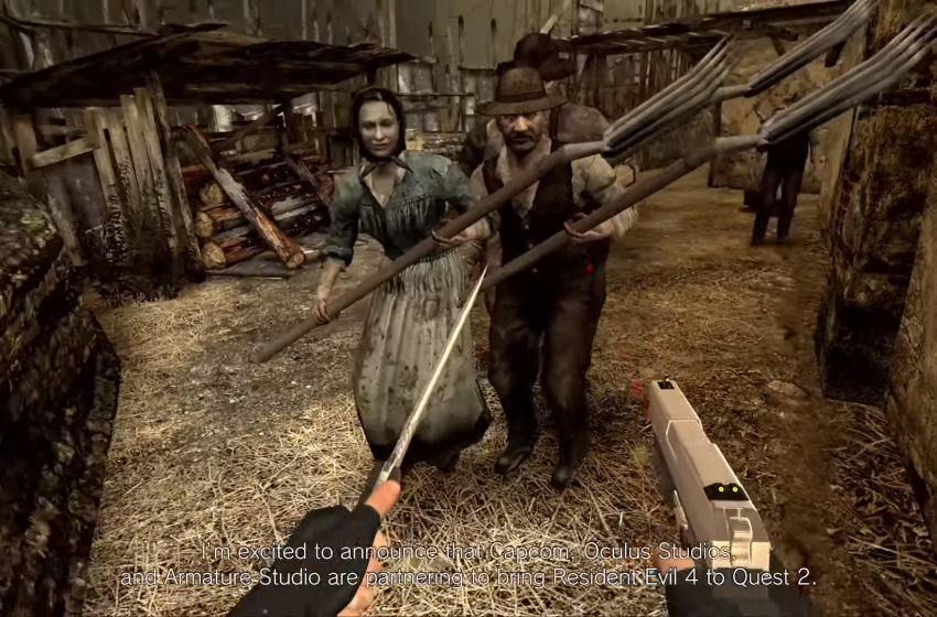 Resident Evil 4 VR announced for Oculus Quest 2 as a first-person remake