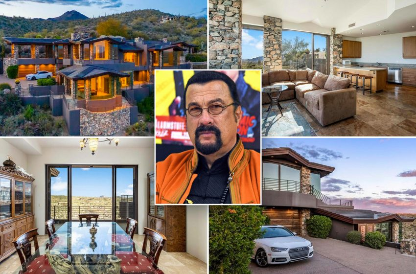 Steven Seagal is selling his  bulletproof Arizona mansion for $3.4M