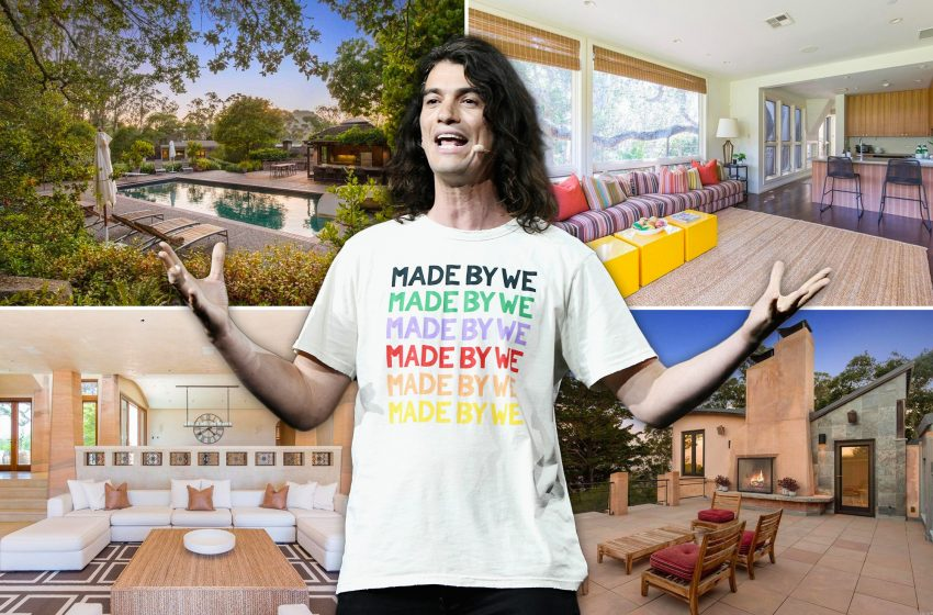 Ex-WeWork CEO Adam Neumann sells estate for $22.4M