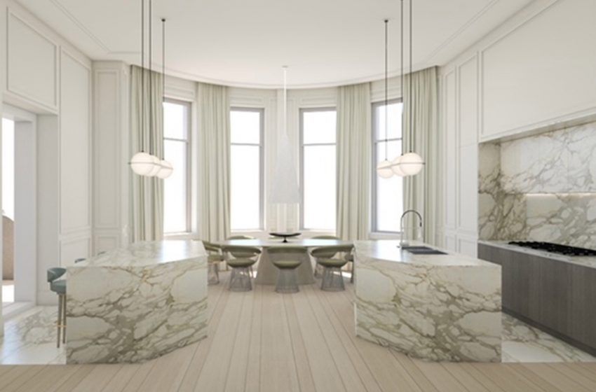NYC mansion with abandoned renovation relists for $25M