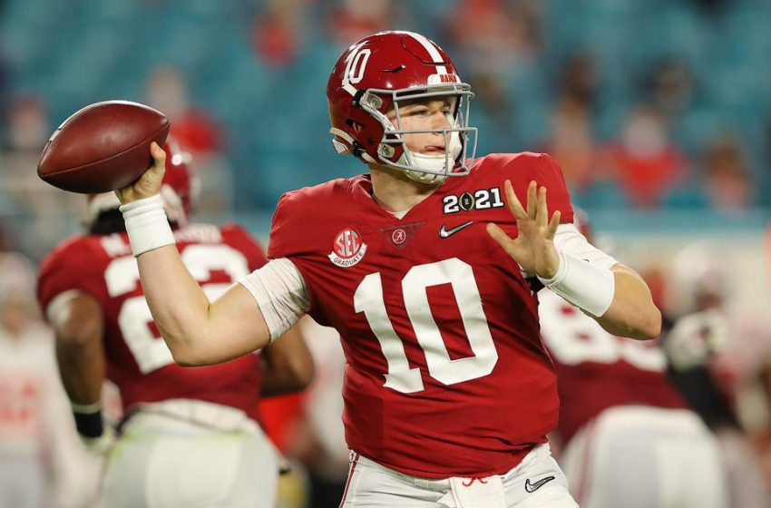 New England Patriots Wait For Alabama Quarterback Mac Jones To Pay Off At No. 15 Overall
