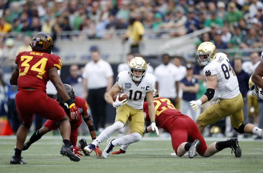 How College Football Killed The Punt Return, At Least At Notre Dame