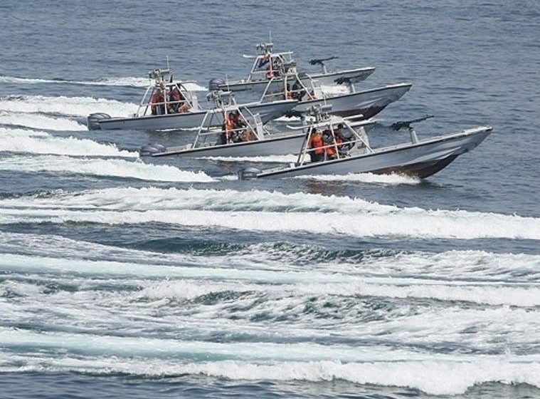 Iranian vessels swarmed and harassed US Coast Guard ships for hours in the Persian Gulf