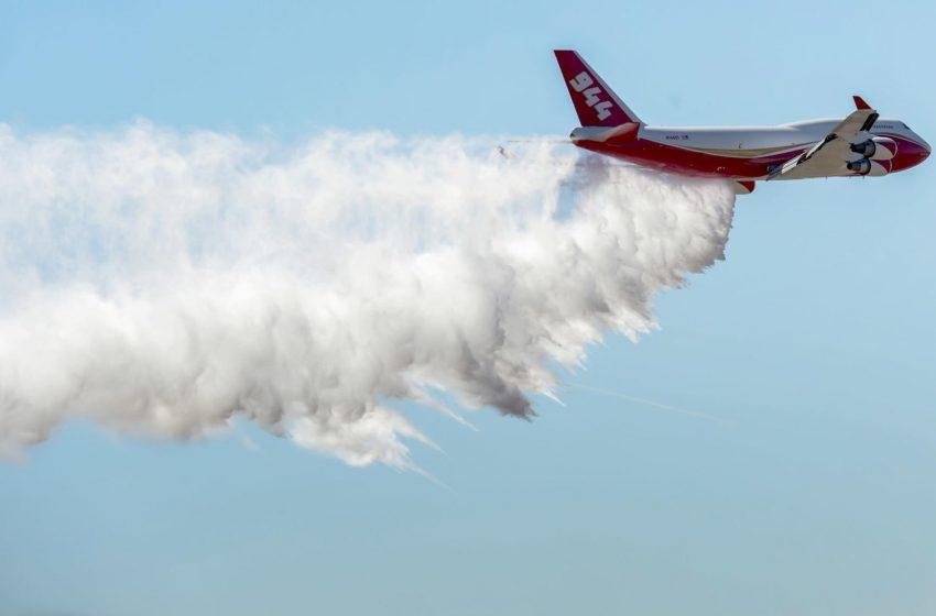 Wildfire-fighting plane is shut down as fire season begins