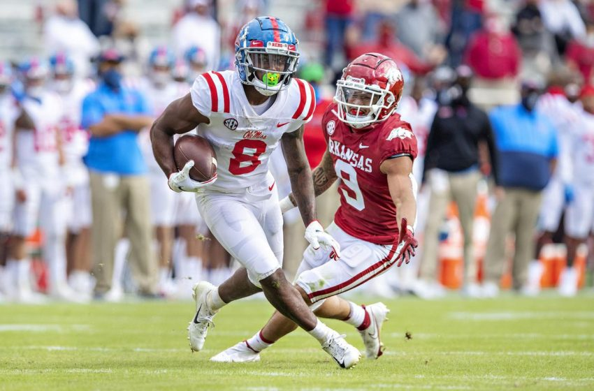Ole Miss Wideout Elijah Moore Could Propel The Green Bay Packers' Offense To New Heights
