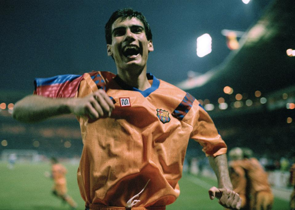 Pep Guardiola Joy 1992