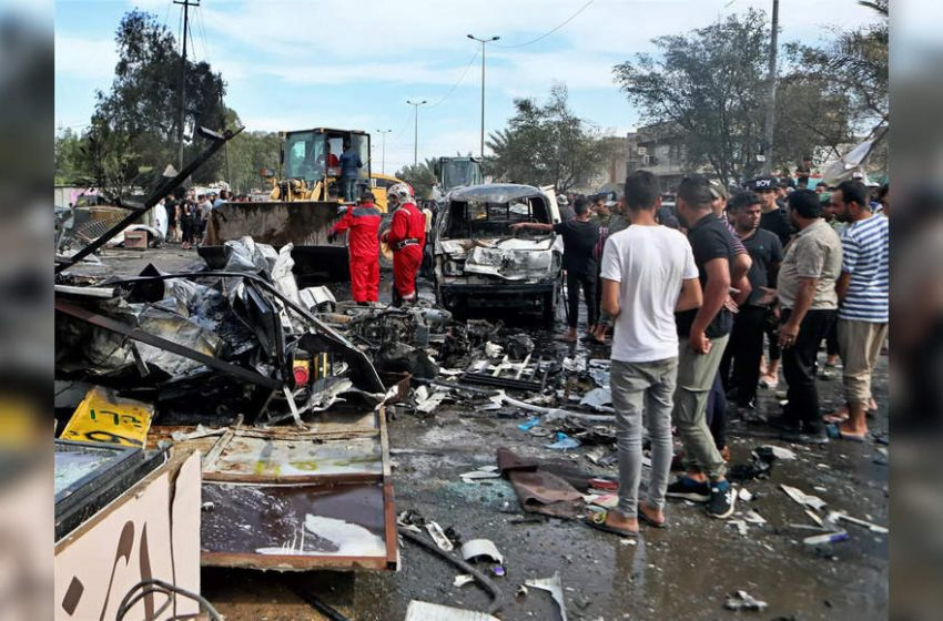 1 killed, 12 wounded in market explosion in Iraq's capital