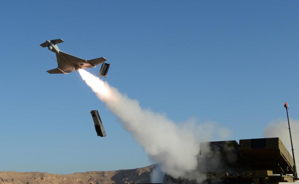 IAI Harop, loitering munition, drone,