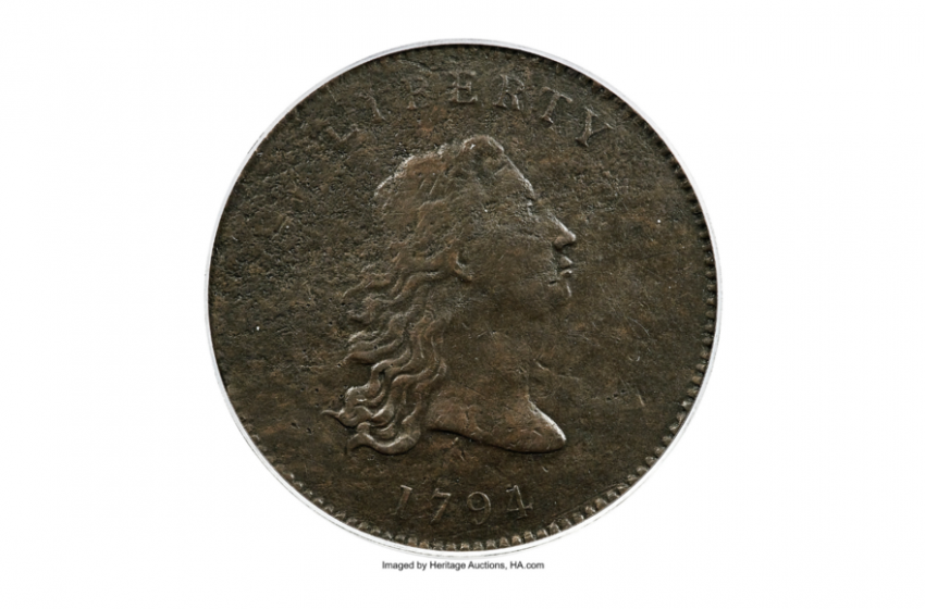 Prototype of first US dollar coins going up for auction