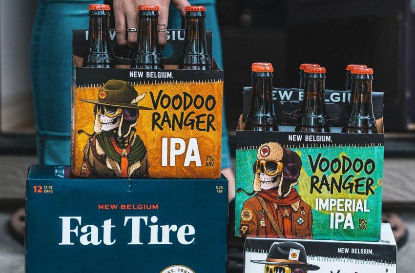 New Belgium Brewing Bets On Voodoo Ranger IPA, Fruit Smash Hard Seltzer
