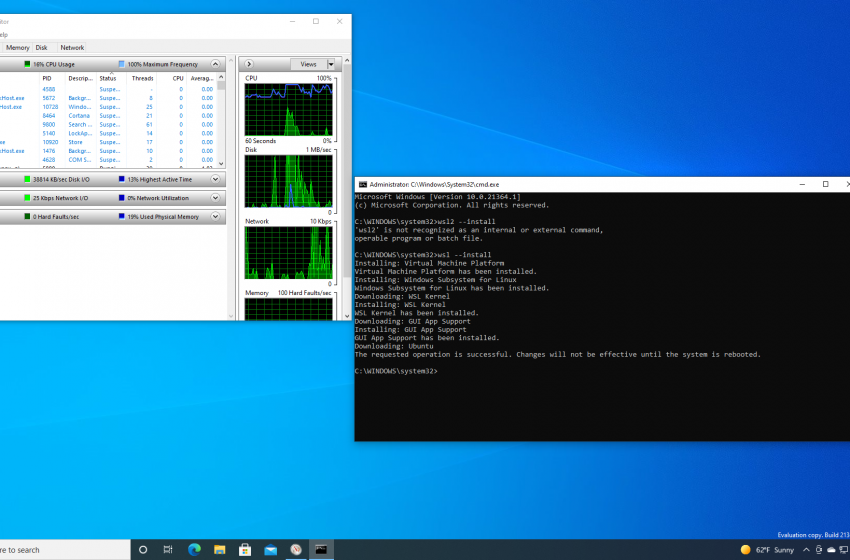 Graphical Linux apps are coming to Windows Subsystem for Linux