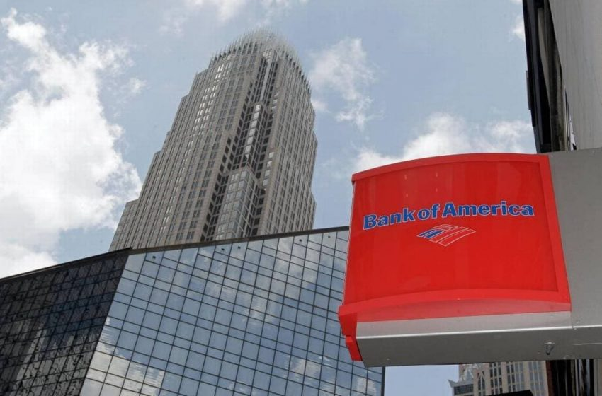 Bank of America's profit more than doubles in the fiscal first quarter