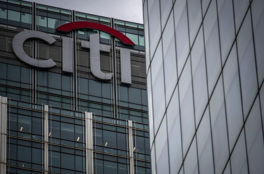 Citigroup's profit jumps to a record high in the fiscal first quarter