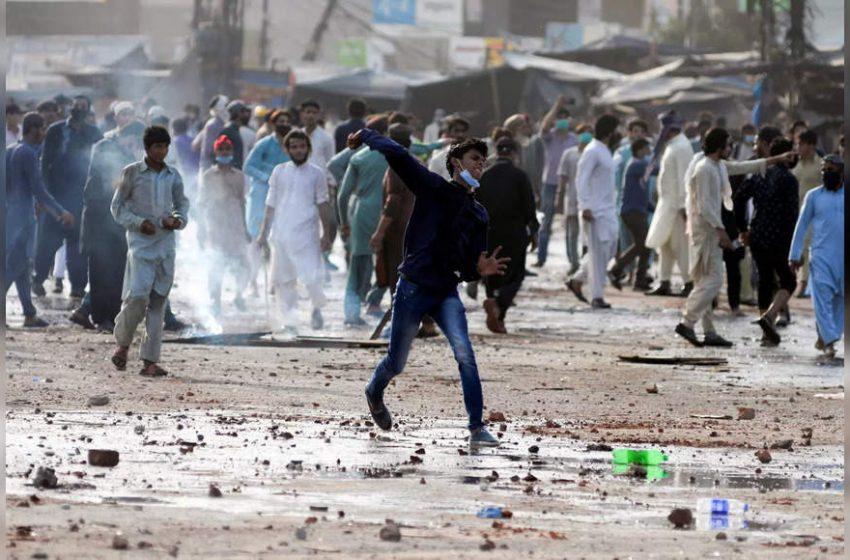 Pakistan suspends services of social media platforms following violent protest