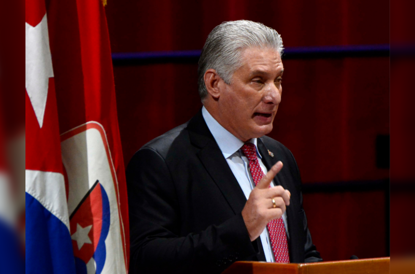 Cuba's Communist Party chooses Miguel Diaz-Canel as leader
