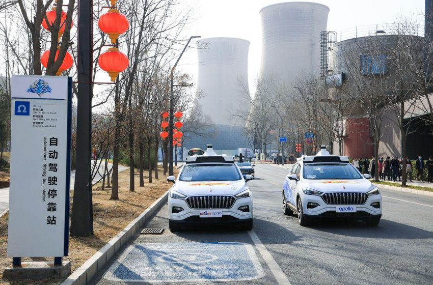 Baidu Launches Robotaxi Service Outside Beijing.  How 'Fully Driverless' Is It Vs. AutoX?