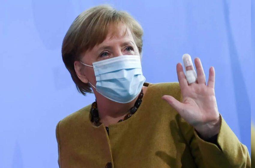 Merkel receives AstraZeneca jab: spokesman