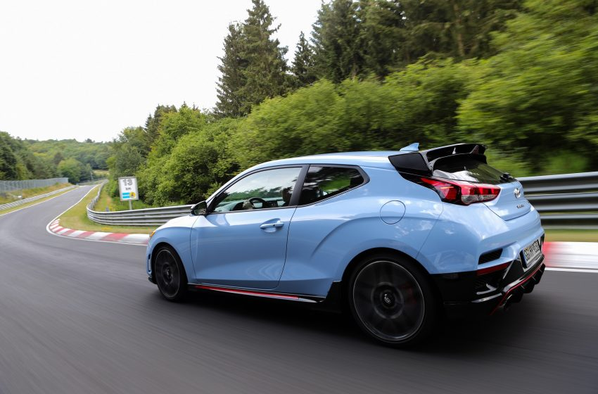 The 2021 Hyundai Veloster N: Sometimes America does get the good one