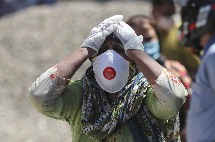 AP PHOTOS: India's deadly virus surge follows crowded events