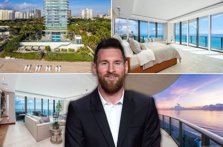 Lionel Messi scores entire floor of luxury Florida condo for $7.8M