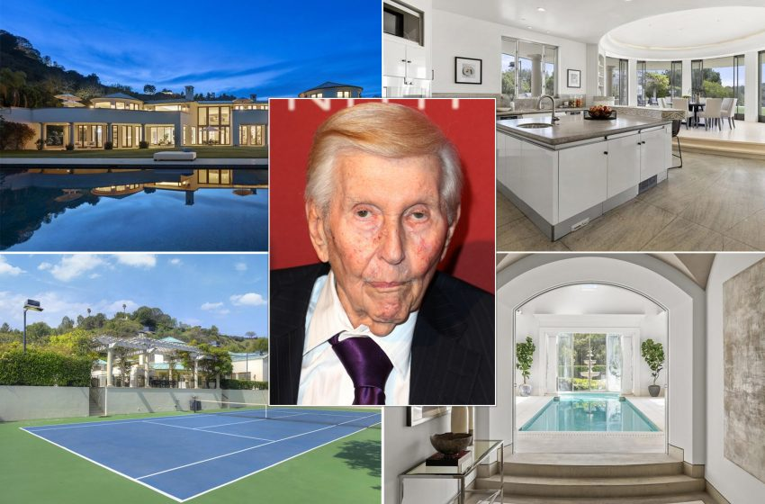 Beverly Hills mansion of the late Sumner Redstone lists for $27.9M
