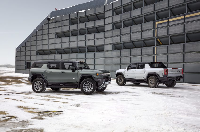 GMC readies a second electric off-road Hummer—this one is an SUV