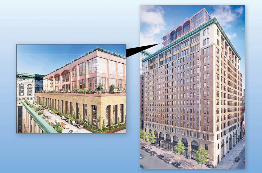 Century-old Textile Building set for a revamp that includes penthouse