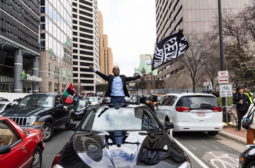 Minneapolis community celebrates Derek Chauvin conviction