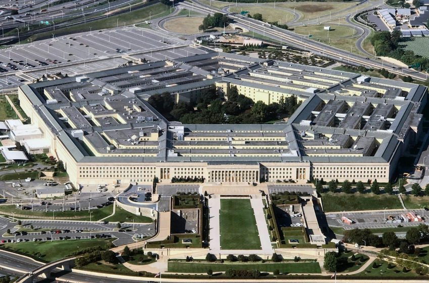 Minutes before Trump departed office, a mysterious Florida company reportedly took over a slice of the Pentagon's internet space
