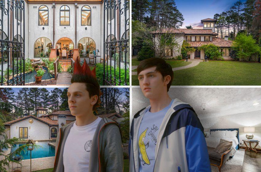 'Cobra Kai' mansion  lists for $2.65M — bizarre shower included