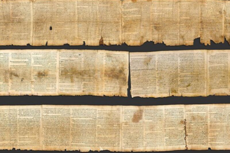 New handwriting analysis reveals two scribes wrote one of the Dead Sea Scrolls