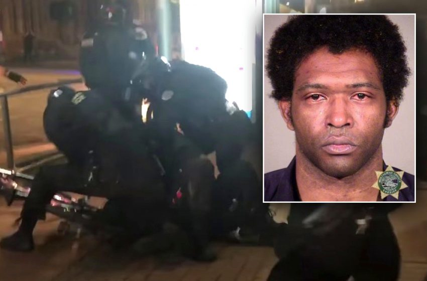Portland cop punched and knocked to ground during night of destruction