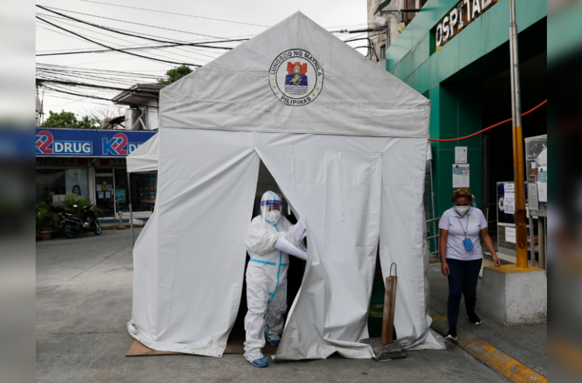 Philippines seeks to lift medical capacity as Covid-19 cases top one million