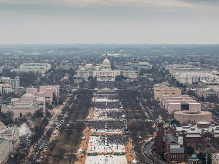 DC pays out $1.6m to protesters wrongly arrested at Trump inauguration