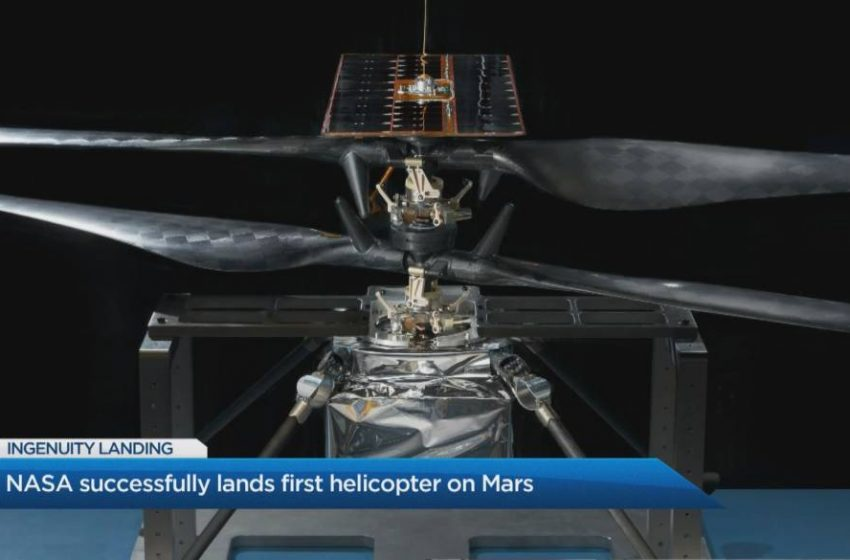 Mission to Mars: Canadian 'Ingenuity' gets us closer to the red planet