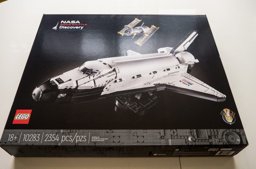Lego has a new 2,354-piece NASA Space Shuttle set, and it's awesome