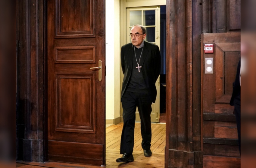 French high court clears cardinal of abuse cover-up claims