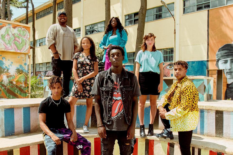 The cast of 'Zero' on Netflix