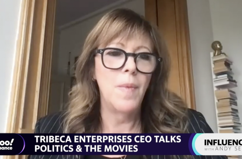 Hollywood can 'absolutely' make political statements: Tribeca Enterprises CEO