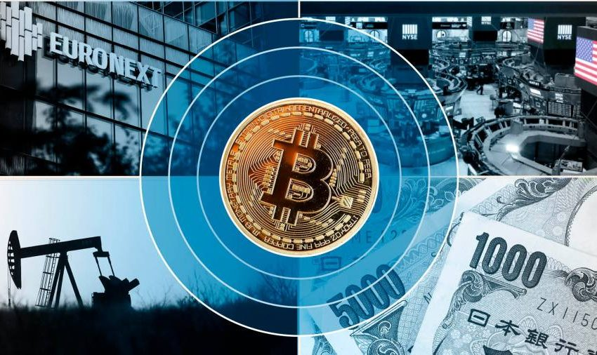 Bitcoin turmoil seeps into traditional financial markets