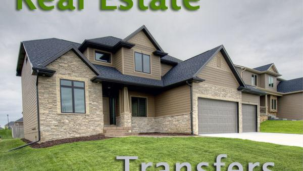 Dodge County real estate transfers   Local