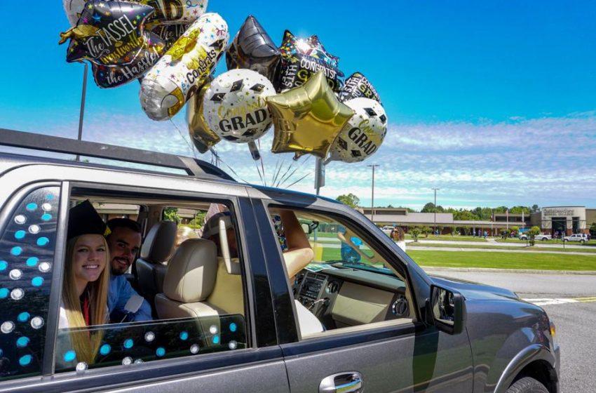 Chattahoochee Tech honors graduates with drive-thru graduation event   Local News