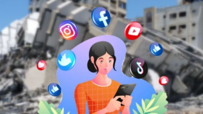 Social media became a new front in latest Gaza fighting